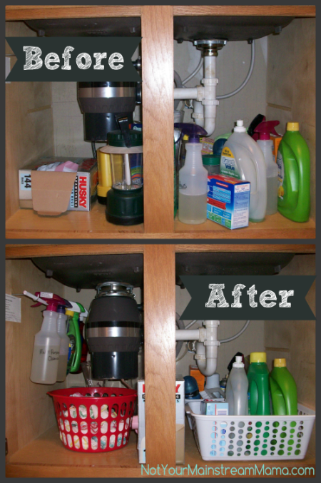 Before_After Under Sink
