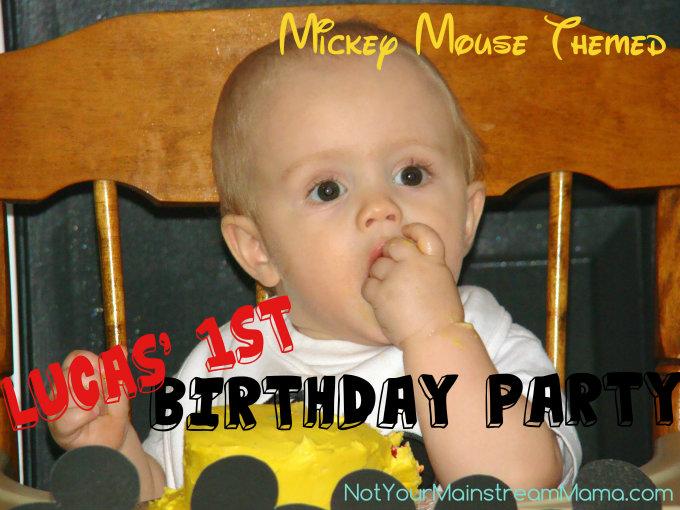 Lucas' Birthday Cutie