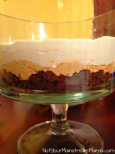 Pumpkin Trifle Recipe Ingredient Layers