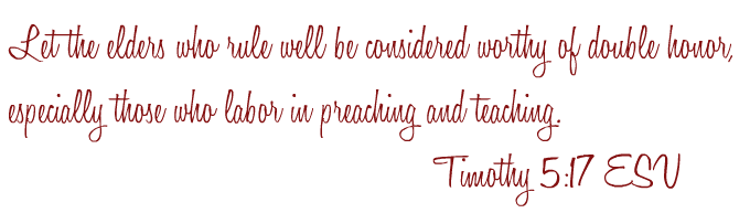 Timothy 5-17
