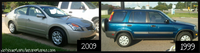 2009 Altima to 1999 CR-V