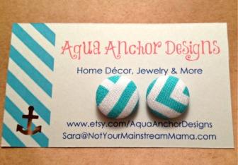 Aqua Greek Keys