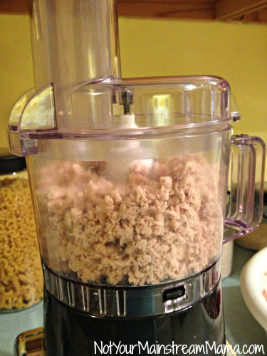Crockpot Freezer Shredded Chicken Food Processor