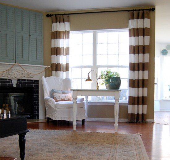 Gorgeous Striped Curtains