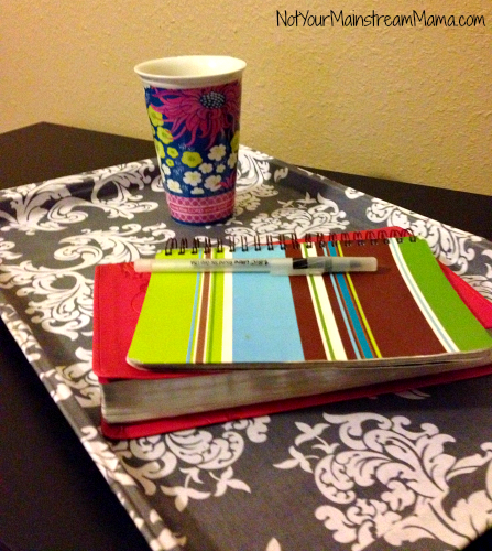 DiY Fabric Covered Tray