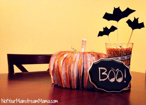 Fall Halloween Centerpiece