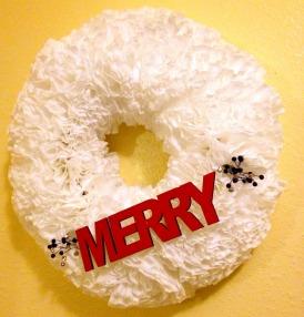 Merry Plaque White